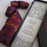 Lynn E-H Woven silk tie