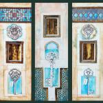door triptych